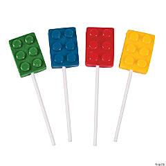 Color Brick Lollipops