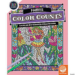 Color by Number Color Counts: Fairies