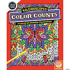 Color by Number Color Counts: Kaleidoscope