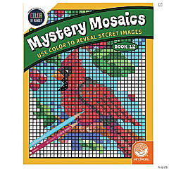 Color by Number Mystery Mosaics: Book 12
