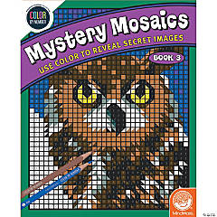 Color By Number Mystery Mosaics: Book 3