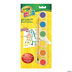 6-Color Crayola® Color Wonder Gel Paints - Classic Colors