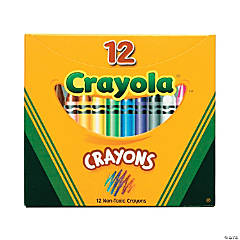 12-Color Crayola® Crayons