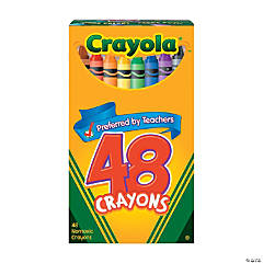48-Color Crayola® 48 Pc. Crayons