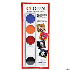 Color Palette Clown Makeup