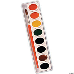 8-Color Prang Watercolor Tray