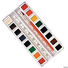 16-Color Prang Watercolor Tray