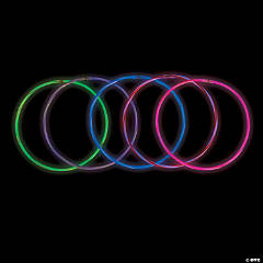 2-Color Premium Glow Necklaces