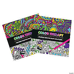 Color Therapy Coloring Books
