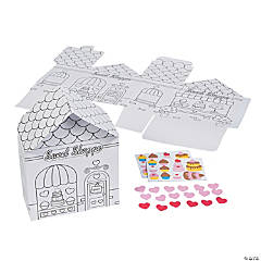 Color Your Own 3D Sweet Shoppe Craft Kit