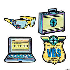 Color Your Own Agents of Truth Fuzzy VBS Magnets