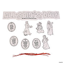 Color Your Own All Saints Mobile Craft Kit