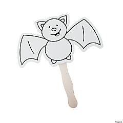 Color Your Own Bat Fans