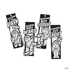 Color Your Own Cave Adventure Fuzzy Bookmarks
