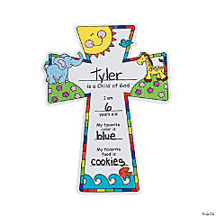 "Color Your Own ""Child of God"" Crosses"