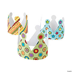 Color Your Own Crowns