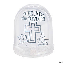 Color Your Own Dive into the Divine Water Globes