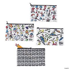 Color Your Own Dr. Seuss™ Pencil Pouches