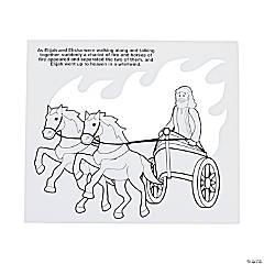Color Your Own Elijah's Chariot Tissue Paper Craft Kit