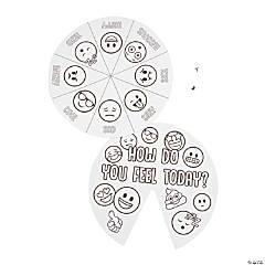 Color Your Own Emoji Mood Spinner Wheels