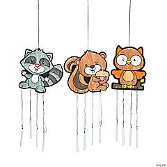 Color Your Own Fall Friends Wind Chimes