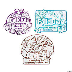 "Color Your Own ""Fall""eluia Magnets"