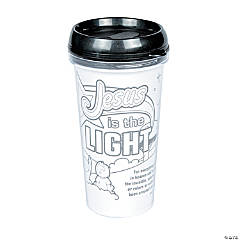 Color Your Own God's Galaxy VBS Travel Mugs