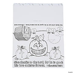 Color Your Own Hallelujah Pumpkin Stand-Ups
