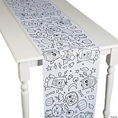 Color Your Own Halloween Table Runner Roll