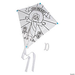 Color Your Own He Lives Kites