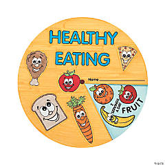 Color Your Own Healthy Eating Wheels
