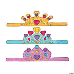 Color Your Own Heart Princess Tiaras