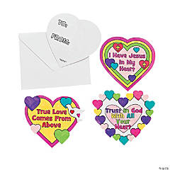 Valentine 39 s day religious bags craft kits jeweleries and for Inspirational valentine crafts