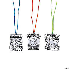 Color Your Own Island VBS Necklaces