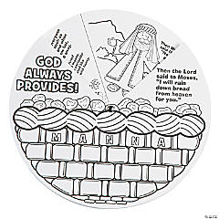 Color Your Own Manna Wheels