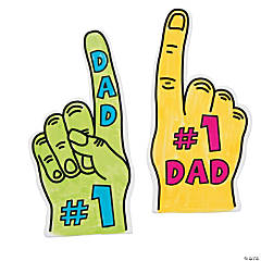 Color Your Own Mini #1 Dad Fingers