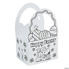 Color Your Own Peanuts® Easter Baskets