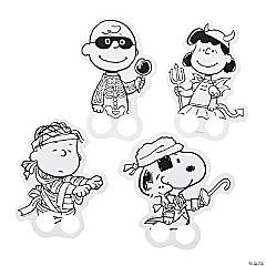 Color Your Own Peanuts® Halloween Finger Puppets