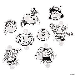 Color Your Own Peanuts® Halloween Sucker Holders