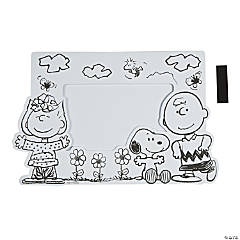 Color Your Own Peanuts® Picture Frame Magnets