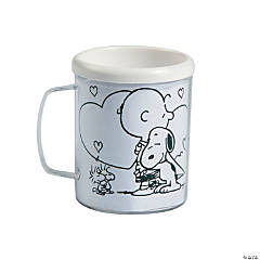 Color Your Own Peanuts® Valentine Mugs