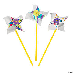 Color Your Own Pinwheels