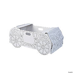 Color Your Own Princess Carriage Box Costume