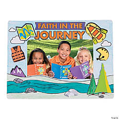 Color Your Own River Canyon VBS Picture Frame Magnets