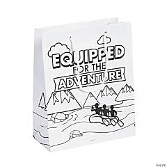 Color Your Own River Canyon VBS Take Home Bags