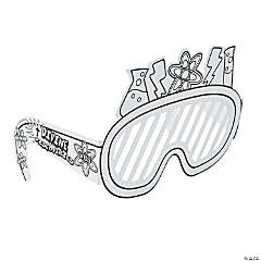 Color Your Own Science Lab VBS Scientist Glasses