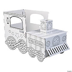 Color Your Own Train Box Costume