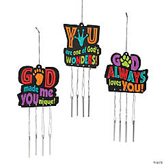Color Your Own Wild Wonders VBS Wind Chimes