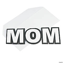 Color Your Own Wow Mom Mother's Day Cards
