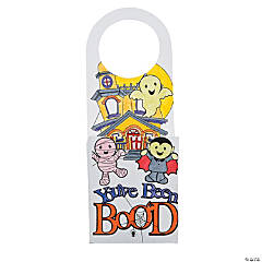 Color Your Own You've Been Boo'd Doorknob Hangers
